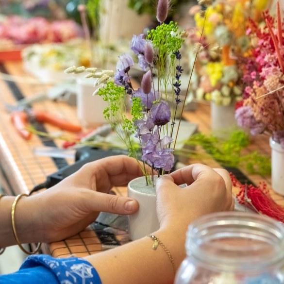 comment faire sécher des fleurs
