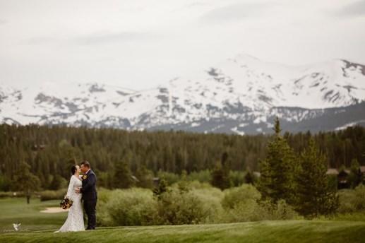 Snowy Colorado Wedding Photos