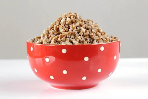 buckwheat porridge in bowl