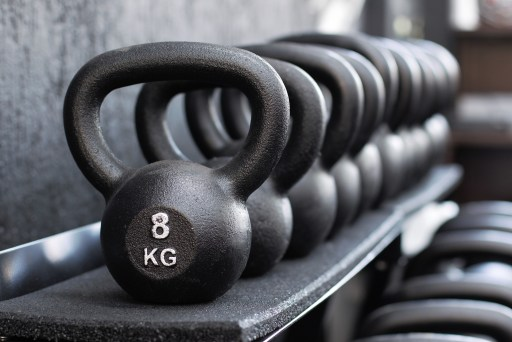 Row of kettlebells to benefit athletic performance