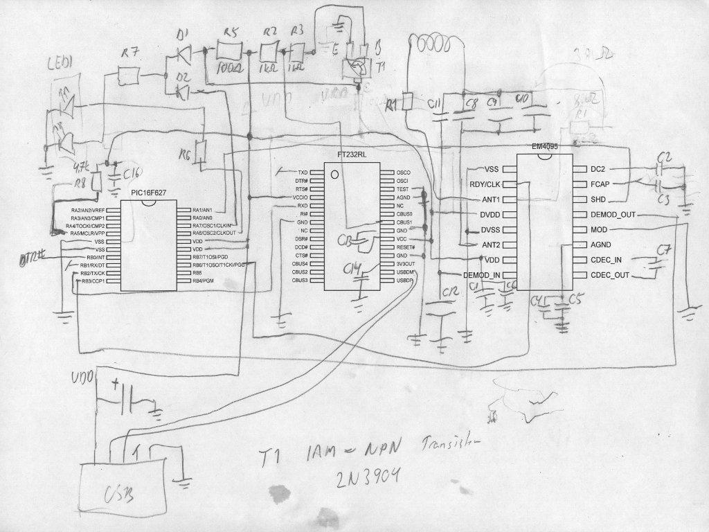 Reverse Engineering Part 2 Schematics