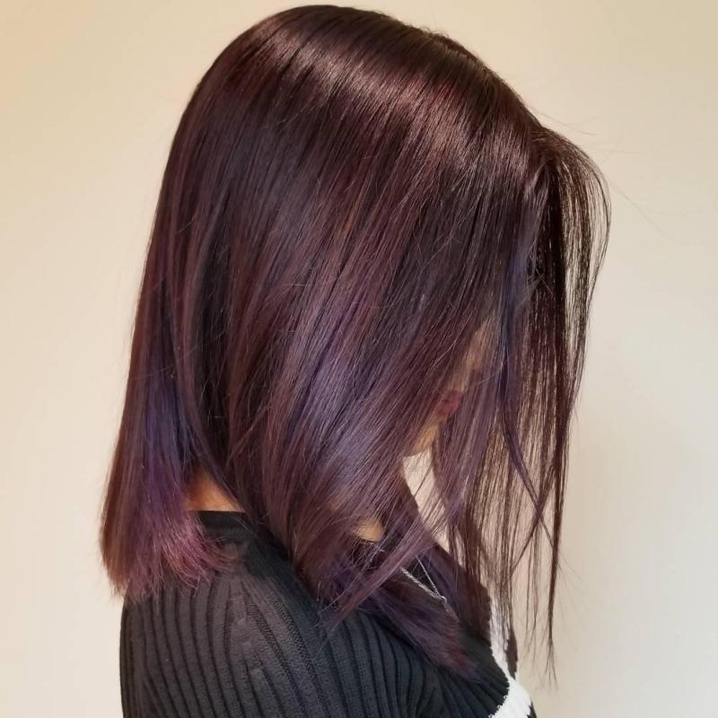 Mahogany Hair Color Makeupsite