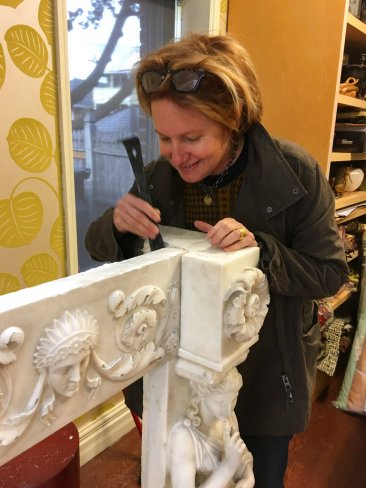 Mantel Masterpiece Moves From Rubbish Pile to the MFA