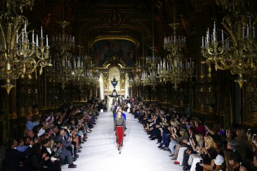 Paris fashion: Excess at Balmain; Chloe designer makes debut