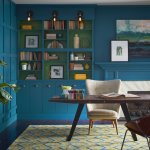 Sherwin-Williams pick sea blue Oceanside 2018 color of year