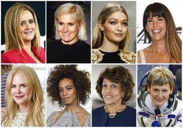 Revolutionaries to supernovas: Glamour names women of 2017
