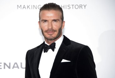 David Beckham launches L'Oreal men's grooming products