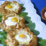 KitchenWise: For brunch, bake your eggs in a pastry nest