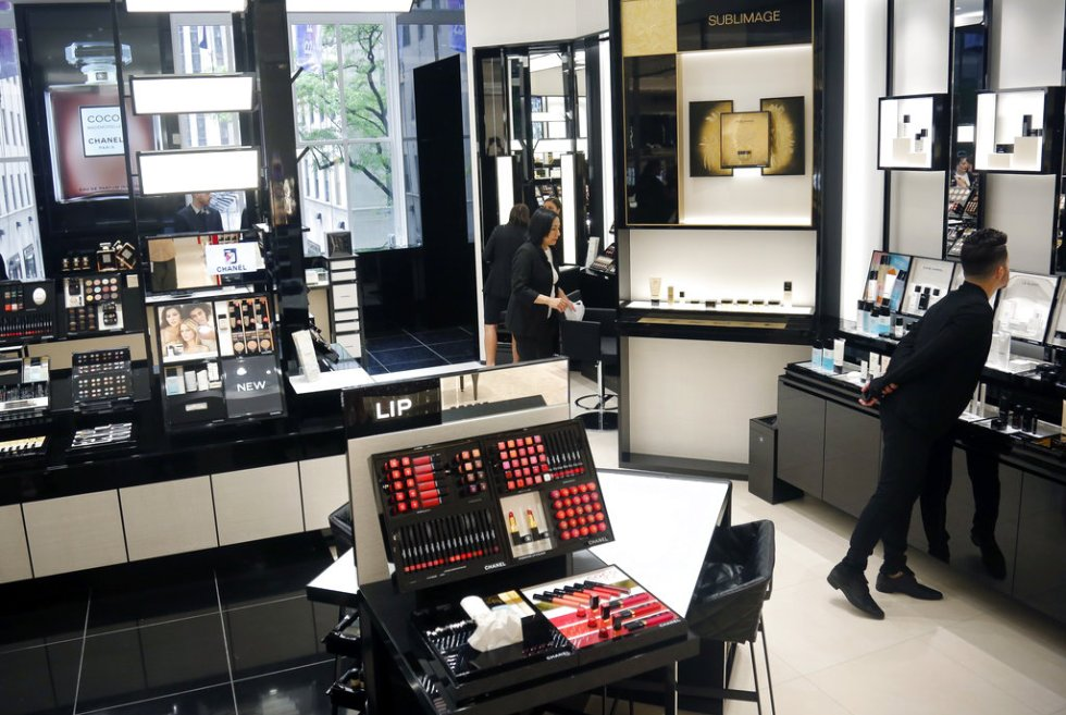 this may 22 2018 photo shows the new chanel space which is among vendors on the revamped second floor devoted to beauty at saks fifth avenue in new york
