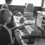 Before parental 'screen time' concerns: radio, even novels