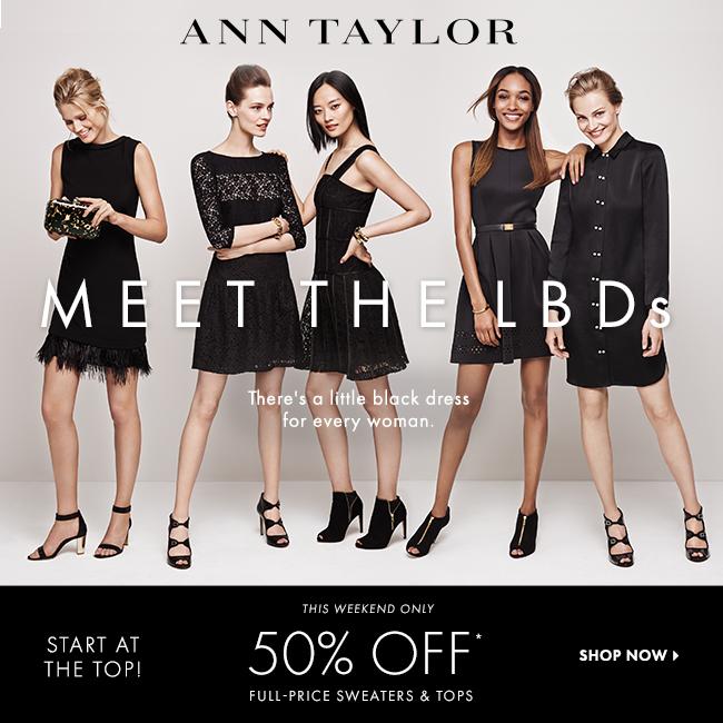 Ann Taylor 50 off sale