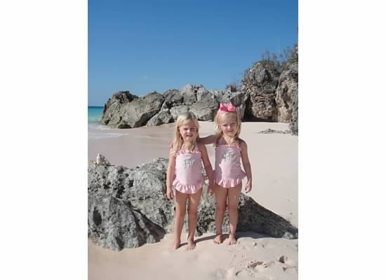My kids in Bermuda 2010