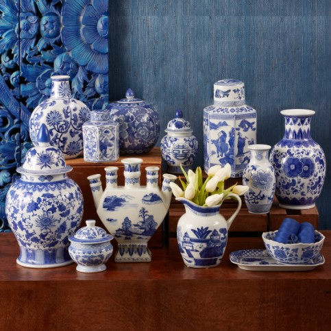 BlueandWhitePorcelain Canton Collection