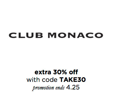 ClubMonacoSale
