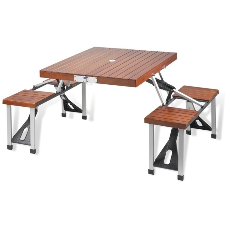 Folding-Wooden-Picnic-Table-with-Seats