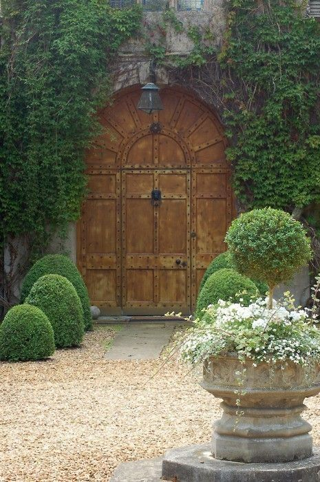 Top With French Garden Planters