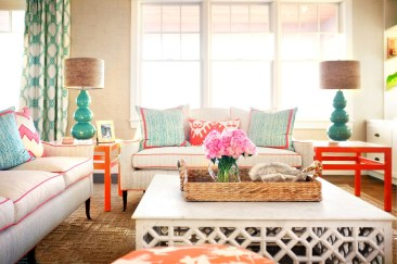 House Tour: A Vibrant Summer Home with Pops of Color