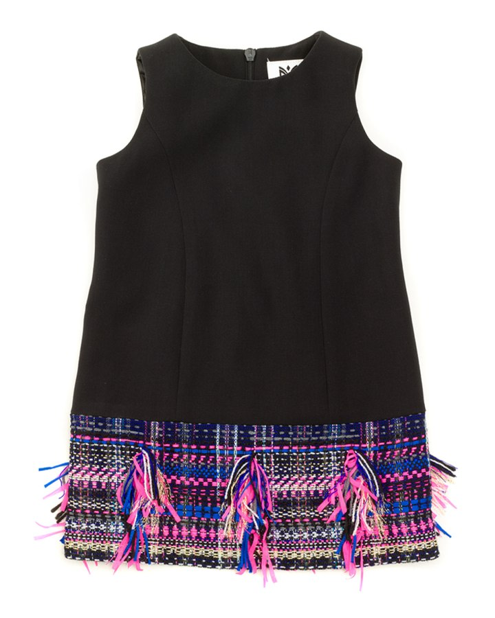 Milli-Minis-Sleeveless-Tweed-Hem-Shift-Dress