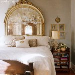 Mirror as Headboard –Not a bad idea!