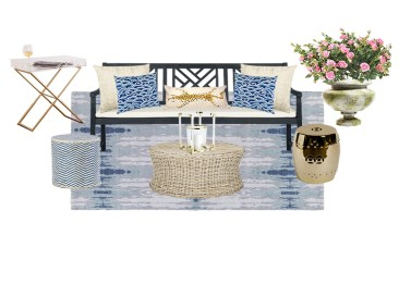 A Stylish Outdoor Space You'll Want To Relax In