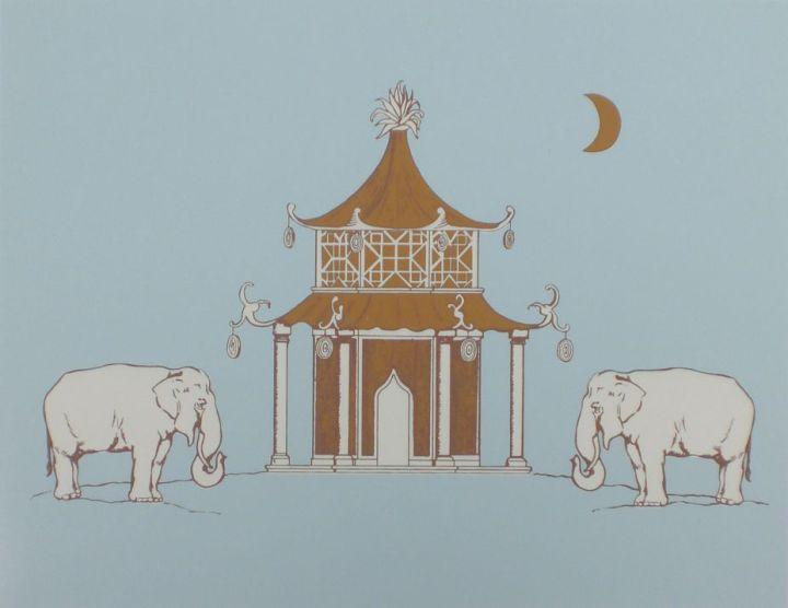 Pagoda-Wallpaper-Katie-Ridder-Blue-Cardamom
