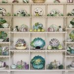 Stylish China and Platter Shelves