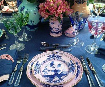 Craving Richard Ginori's Oriente Italiano Collection