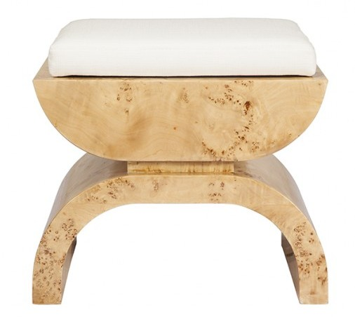 Worlds-Away-Biggs-Burl-Wood-Stool-White-Linen-Cushion-1