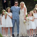 Fashion's Royal Wedding: Kate Moss Weds Jamie Hince in Galliano