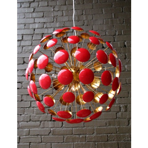 bilbao_gold_leaf_chandelier_27_red_gloss_1