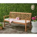 Blog Giveaway!  Classic Geometric Trellis Three Seater Bench!  *Giveaway Has Ended!*