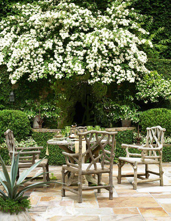 Outdoor Faux Bois Furniture To Love | The Well Appointed House Blog: Living  The Well Appointed Life