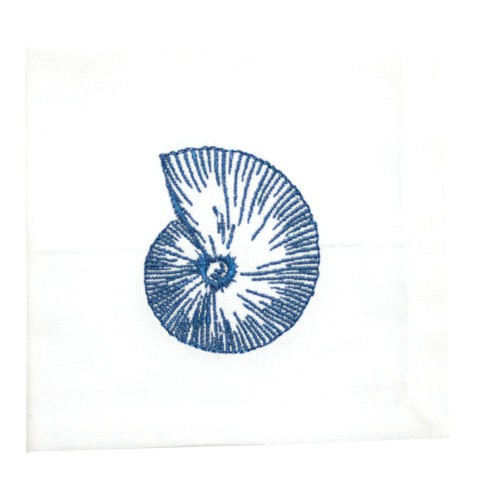 geometric_seashell_cocktail_napkin_1