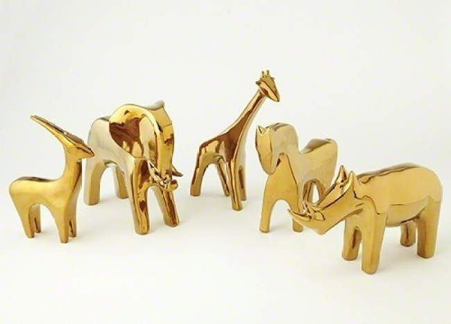 gold-managerie-animal-statue-collection