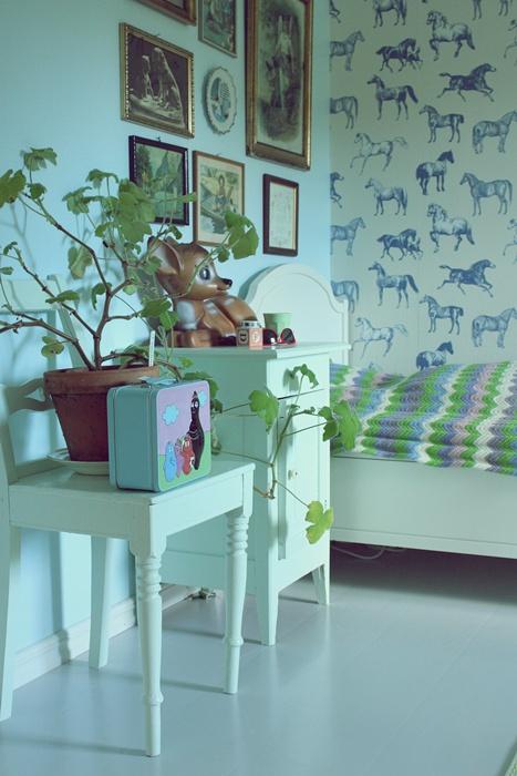 horses bed