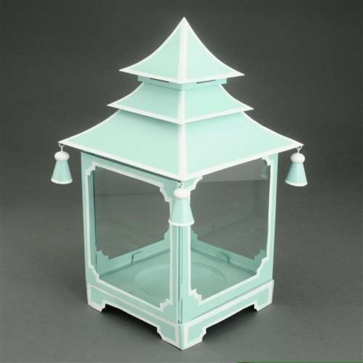parisian_blue_and_white_medium_pagoda_candleholder