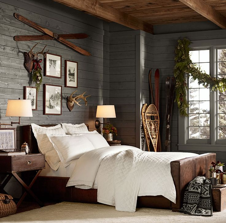Chic Decor for the Ski Chalet | The Well Appointed House Blog ...