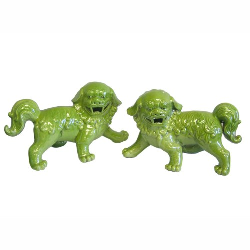 walking-foo-dogs-pair-in-lime-green