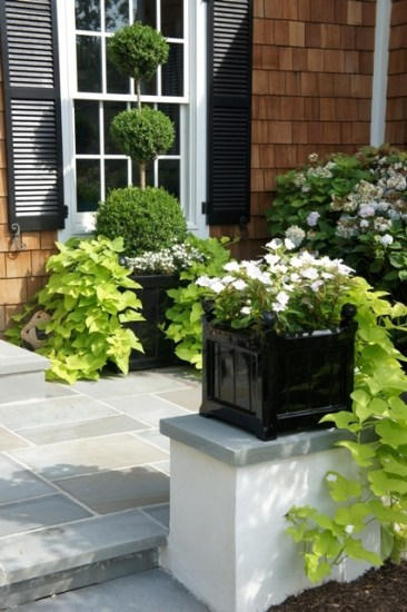Outdoor Garden Planters by Capital Garden: Close Up on the Sloan Planter & Windsor Planter
