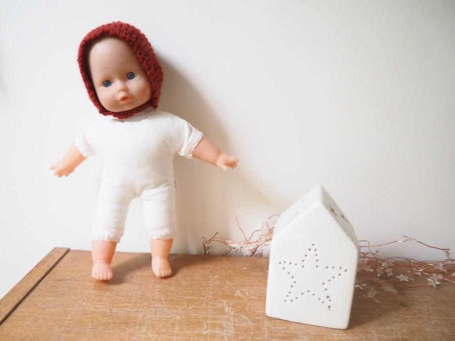 DIY : Un béguin pour poupée