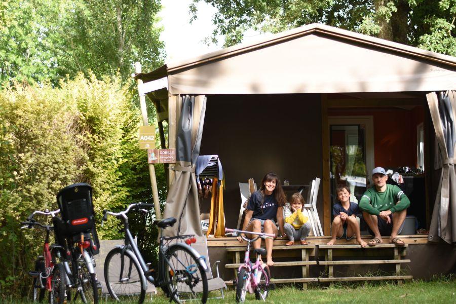 Notre week-end au Camping