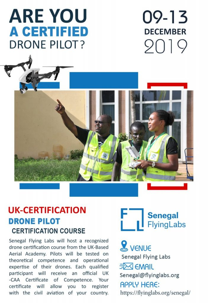 Senegal Flying Labs Drone Pilot Certification Course