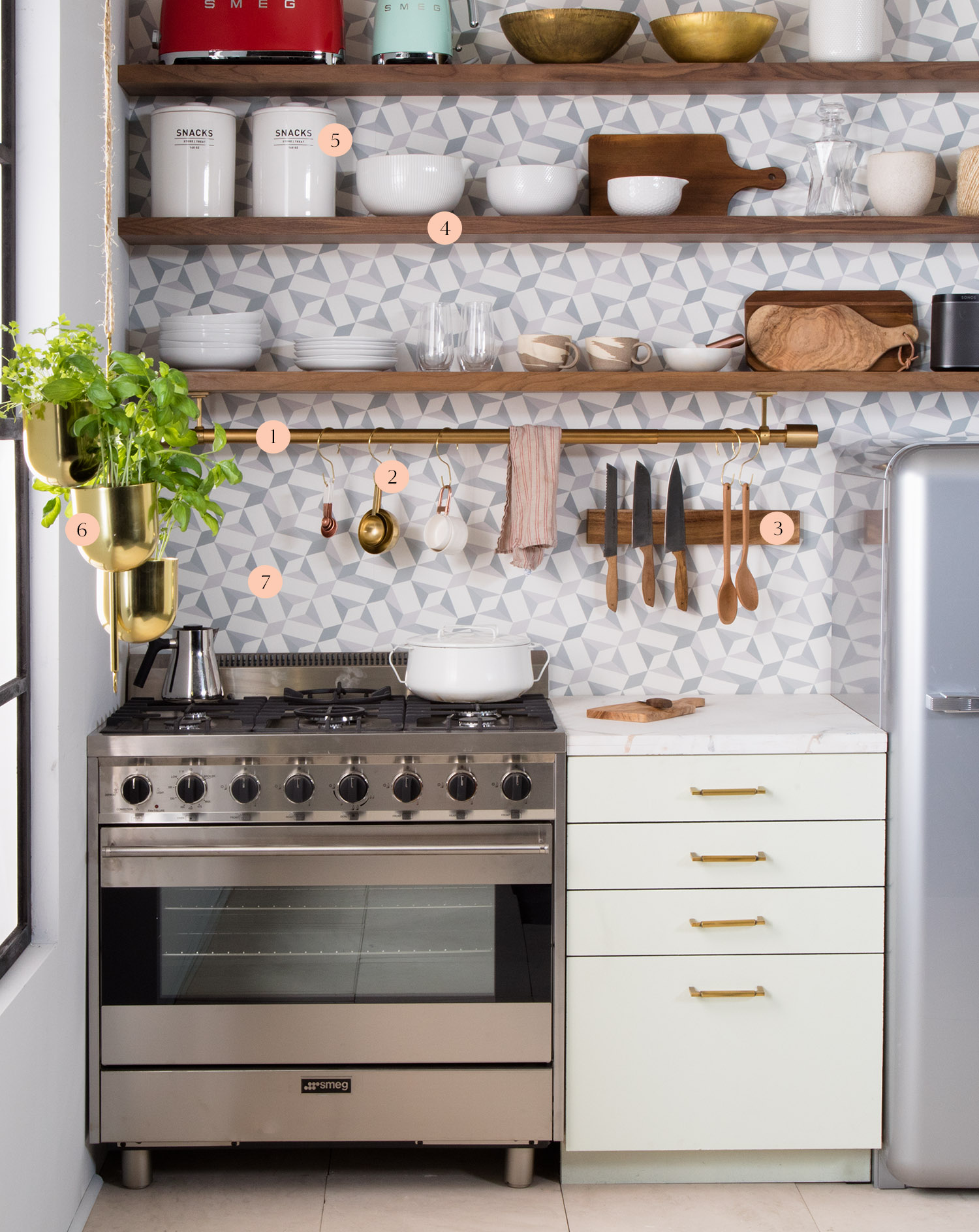 west elm how to organize a small kitchen