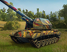 World Of Tanks — SPG