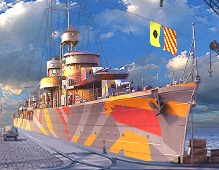 World Of Warships — Camouflage