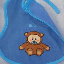 AJ Baby Bear Bib