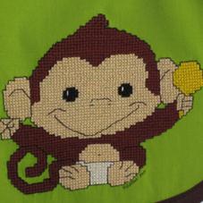 Baby Monkey Bib