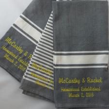 McCarthy Towels