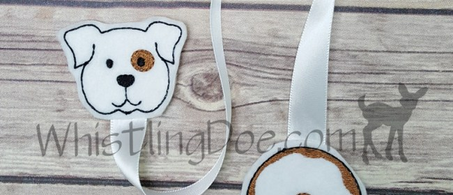 Give a Dog a Donut Ribbon Bookmark