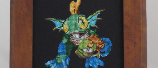 Hero Murky Cross Stitch